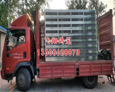 银川福耀永祥赛鸽俱乐部定制不锈钢放飞笼/不锈钢赛鸽笼