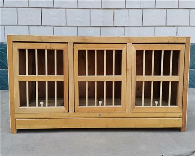 环保型   竹木赛鸽巢箱、竹木