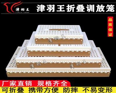 津羽王塑料放飞笼 训放笼 折叠笼 运输笼