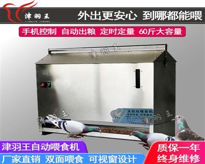 津羽王鸽具   电动喂食机 自