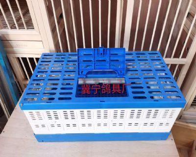 鸽具-放飞笼-塑料笼-塑料折叠放飞笼