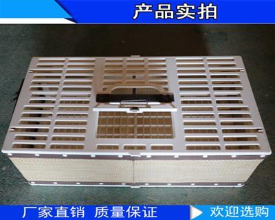 赛鸽训放笼 欧式合成藤笼(折叠)D420型