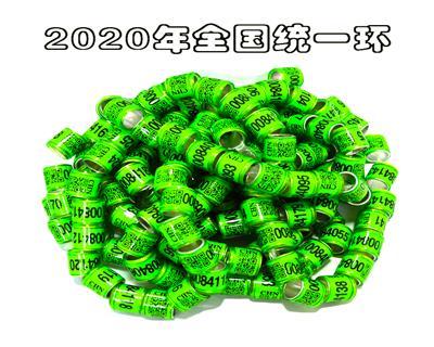 2020年全国地区/统一环二维码足环/信