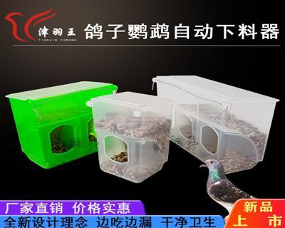 津羽王自动漏食挂盒 食盒食槽 喂食器