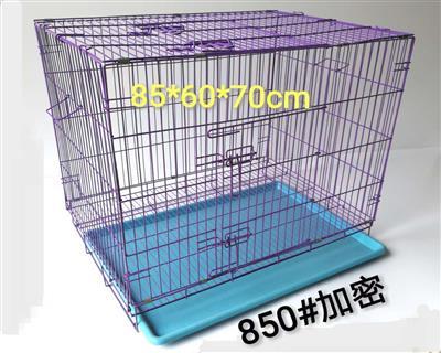宠物笼 加粗可折叠铁丝笼