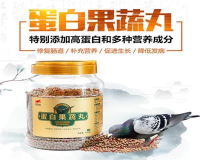 心连心鸽药信鸽用蛋白果蔬丸营养丸高蛋白滋