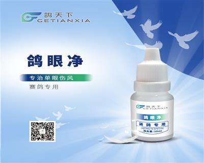 鸽眼净(治疗及预防单眼伤风)