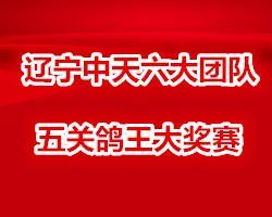 辽宁中天2018年六大团队五关鸽王大奖赛
